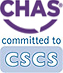 CHAS and CSCS logos